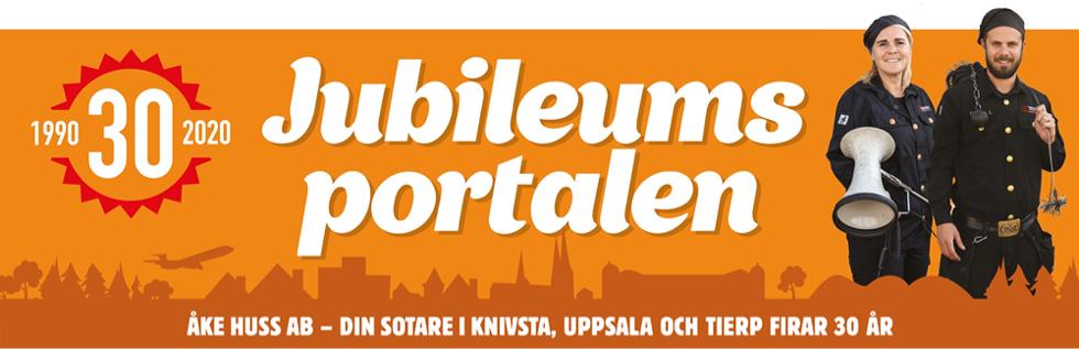 Åke Huss 30 år - Jubileumsportal